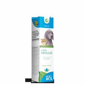 VETOBIOL lotion oreilles chiens et chats (100ml)