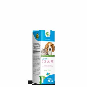 VETOBIOL lotion oculaire chiens et chats (100ml)