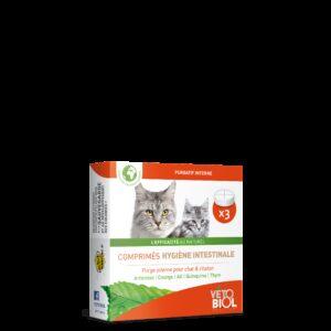 VETOBIOL Hygiène intestinale Chaton/Chat (3cp)