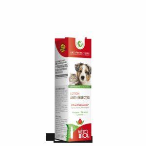VETOBIOL Lotion anti-insectes chien et chat (100ml)