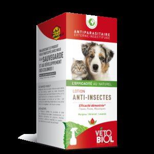 VETOBIOL Lotion anti-insectes chien et chat (200ml)