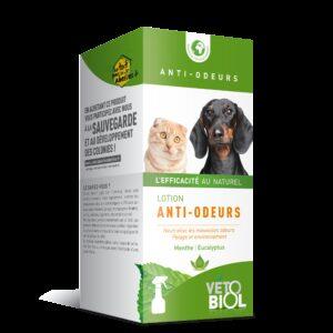 VETOBIOL Lotion anti-odeurs chien et chat (200ml)