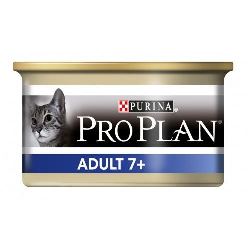 Proplan Chat Adult 7+ (24 boites de 85gr)