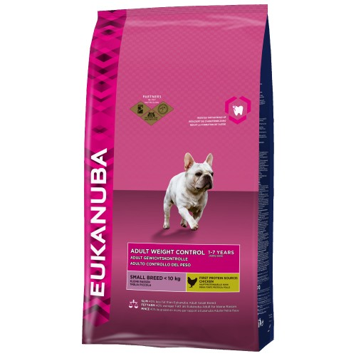 Eukanuba Chien Adult Small  Weight Control (3kg)