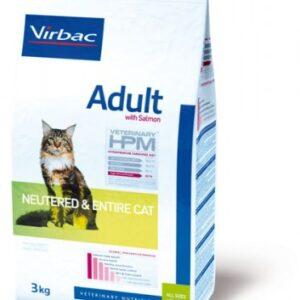 Virbac Veterinary HPM Adult Cat Saumon (3kg)