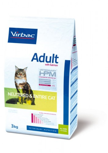 Virbac Veterinary HPM Adult Cat Saumon (7kg)