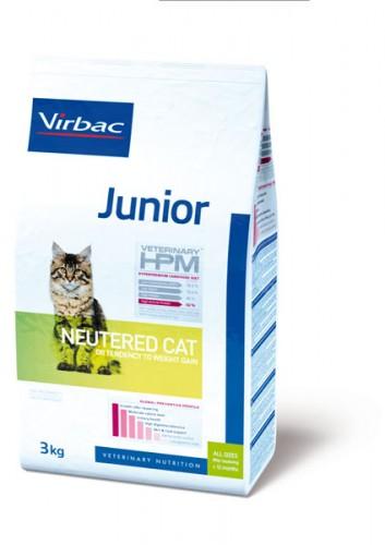 Virbac Veterinary HPM Junior Neutered Cat (400gr)
