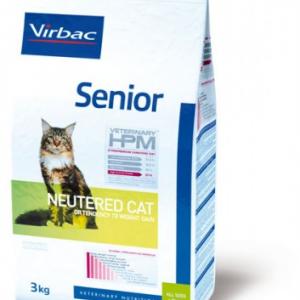 Virbac Veterinary HPM Senior Neutered Cat (400gr)