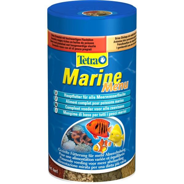 Zolux Nourriture Poisson Eau de Mer Tetra Marine Menu 250ml