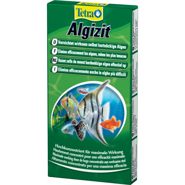 Zolux Traitement Eau Tetra Algizit 10 comprimés