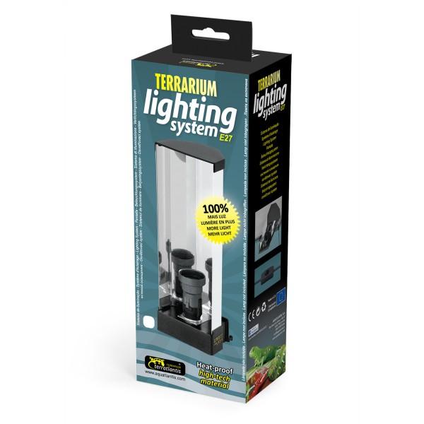 Zolux Luminaire Terrarium Alu Support de Lampe
