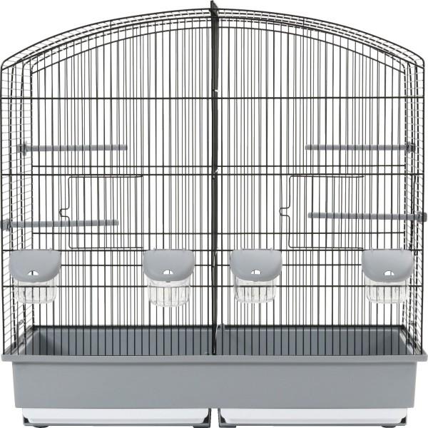 Zolux Cage Oiseau Family 6 Noir/Gris