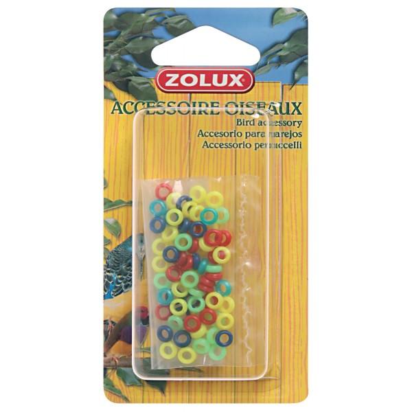Zolux Bagues en Plastique pour Canaris et Mandarins