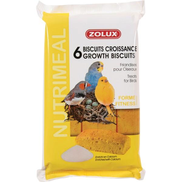Zolux Biscuits pour Oiseaux Croissance 75g x6