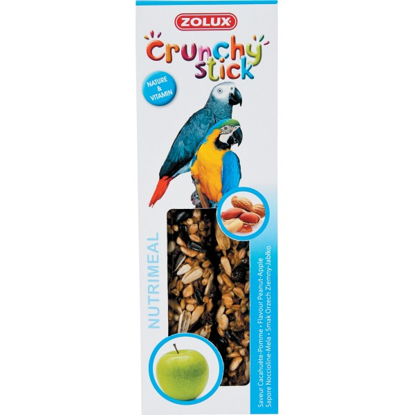 Zolux Crunchy Stick Grande Perruche Cacahuète/Pomme