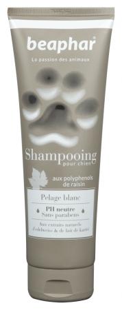 Beaphar shampooing pelage blanc (250ml)