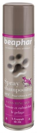 Beaphar shampooing sec chien et chat (250ml)