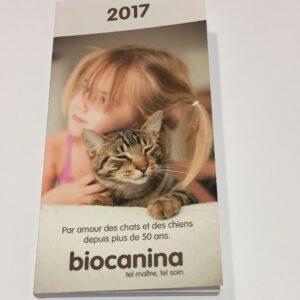 Agenda 2017 Biocanina