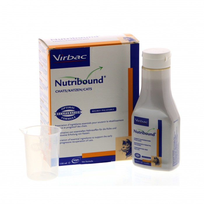 Nutribound chat - aliment complémentaire 3x150mL
