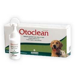 Otoclean unidoses - Nettoyant auriculaire pour chiens et chats 18x5mL