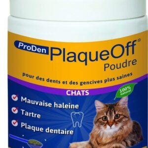 PRODEN Plaque Off chat - Hygiène dentaire des chats 40gr