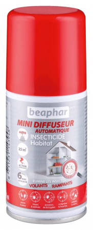 Fogger Insecticide Habitation Beaphar (75ml) (25m2)