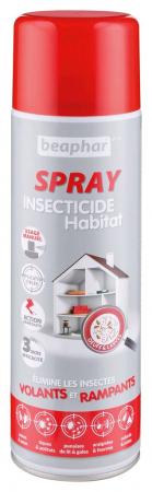 Beaphar spray insecticide habitation permethrine (500ml)