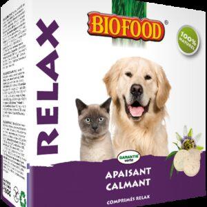 BIOFOOD - Comprimés Relax chien et chat 100comprimés