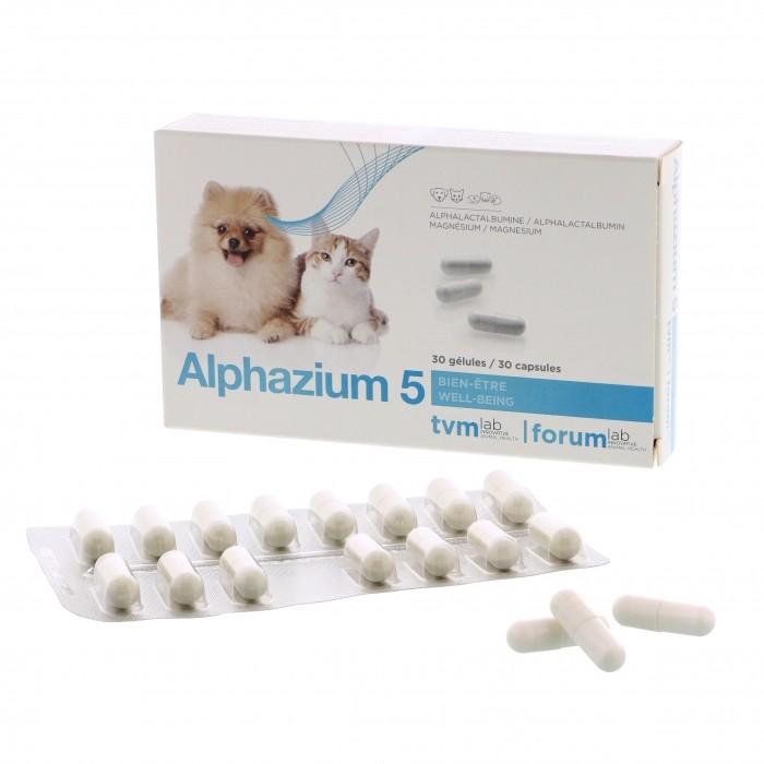 Alphazium® 5 TVM - Anti-stress pour chien, chat et NAC