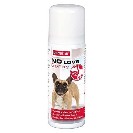 Beaphar No Love spray - protège les chiennes en chaleur - 50ml