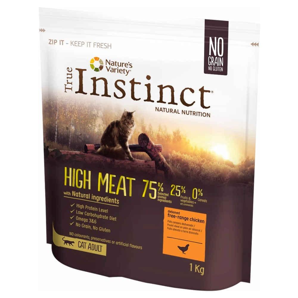 True Instinct - HIGH MEAT POULET – ADULT