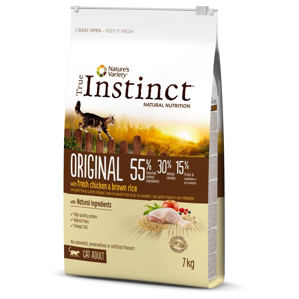 True Instinct chat - ORIGINAL POULET ADULT (7kg)