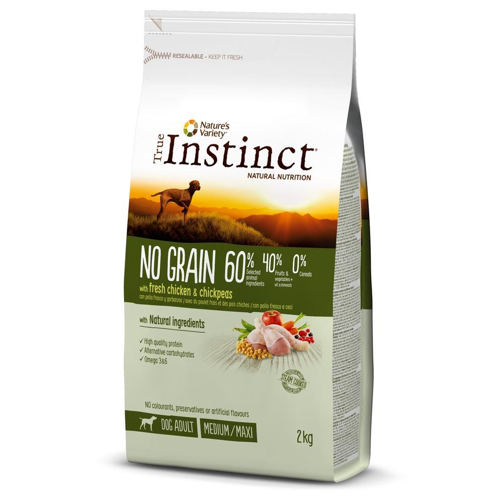 True Instinct chien - No Grain poulet med/max adult (2kg)