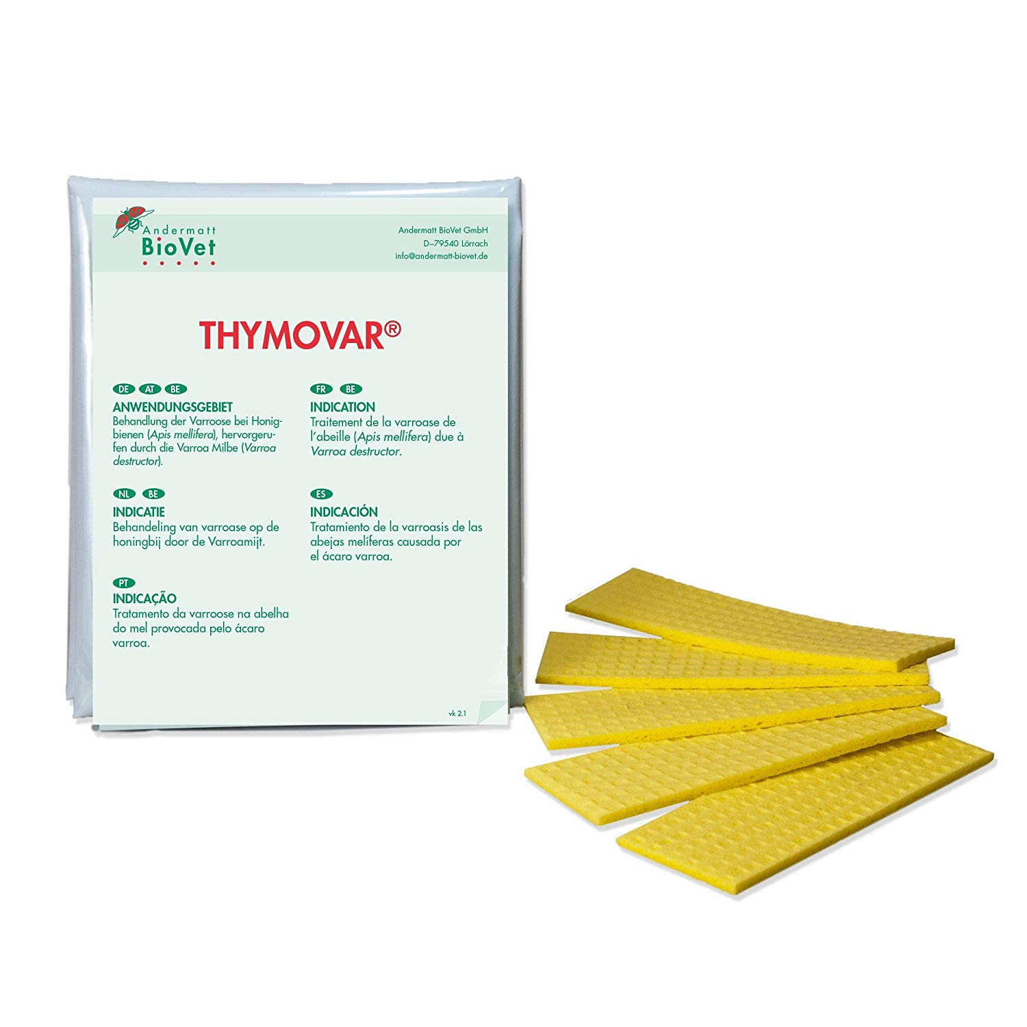 THYMOVAR PLAQUETTES