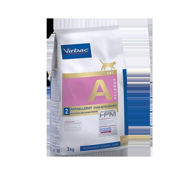 VIRBAC Vet HPM Cat A Allergy Saumon (3kg)