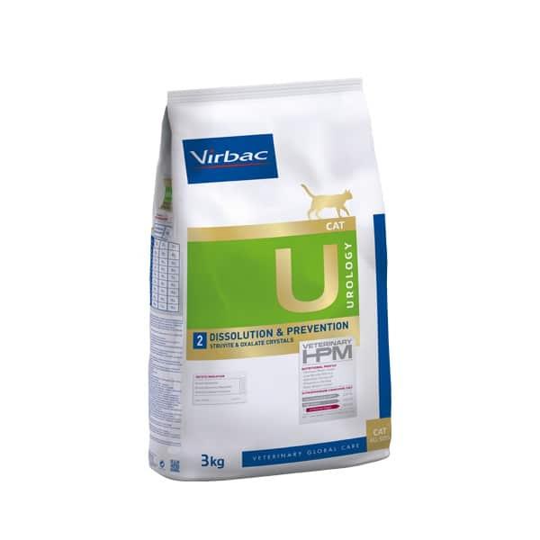 VIRBAC Vet HPM Cat Urology Dissolution et Prévention (1,5kg)
