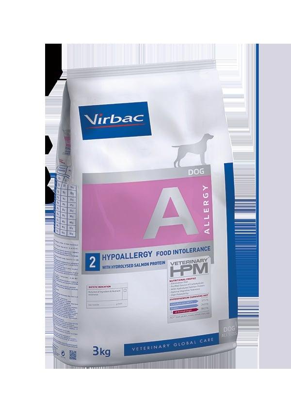 VIRBAC Vet HPM Dog A2 Allergy Saumon (3kg)