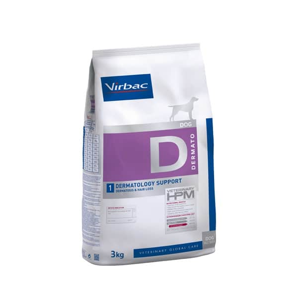 VIRBAC Vet HPM Dog Dermatology Support (3kg)