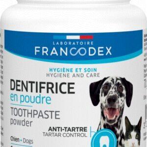 Dentifrice à croquer pour chiens FRANCODEX 20 comprimés
