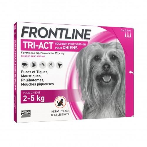 Frontline Tri Act Petit Chien 3 Pipettes