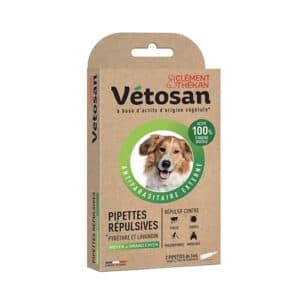 Pipettes Vetosan pour chien